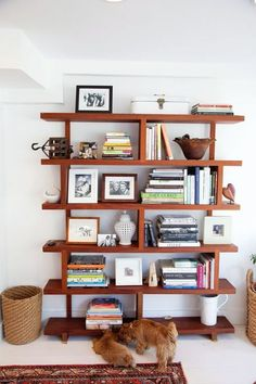 Perfection in shelving.