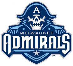 New Milwaukee Admirals | American Logo Sport Theme