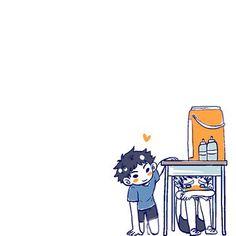 Haikyuu Funny, Haikyuu Manga, Haikyuu Fanart, Haikyuu Volleyball, Volleyball Anime, Bokuto Koutarou, Bokuaka, Anime Chibi, Manga Anime