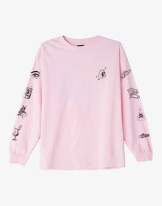 OBEY Clothing x Kelly Breez Tropical casualty long sleeve