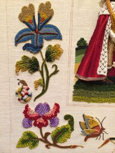 The Embroiderer's Story: Snow - Part II from Thistle Threads
