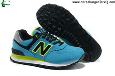 Cheap New Balance ML574WBB Blue White Black
