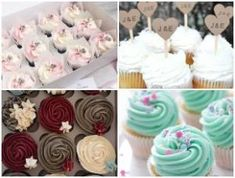 Ideas For Cupcakes Decorados Aniversario Wedding Cakes With Cupcakes, Flower Cupcakes, Fondant Cupcakes, Fun Cupcakes, Chocolate Cupcakes, Chocolate Recipes, Cupcake Cakes, Diy For Kids, Crafts For Kids