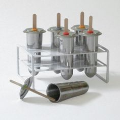stainless steel popsicle mold