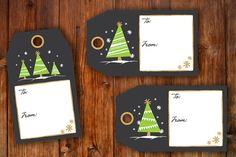 INSTANT DOWNLOAD: Printable Christmas and Holiday by robyriker #gifttags #holiday #wrapping #holidaygifts