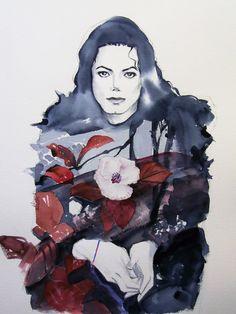 Michael Jackson Scream red by HitomiOsanai.deviantart.com on @deviantART