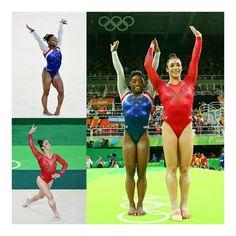 Parabéns a #SimoneBiles por ganhar a medalha de ouro e #AlyRaisman por ganhar prata na #Rio2016, hoje! (📸 Getty Sport) • • • • • • • • • • • • • • • • • • • • • • • • • • • • • Congrats to @simonebiles on winning the gold medal and @alyraisman for winning the silver medal at the #Rio2016 today! (📸 Getty Sport)
