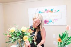 Alexis Grace Florals Tucson Arizona Wedding Florist Arrangement