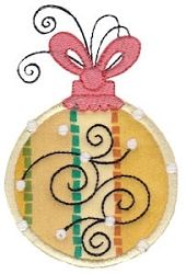 Whimsy Ornaments Applique 1, SWAK Pack! - 2 Sizes | Christmas | Machine Embroidery Designs | SWAKembroidery.com Bunnycup Embroidery