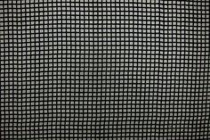 Silk and Cotton Windowpane Organza