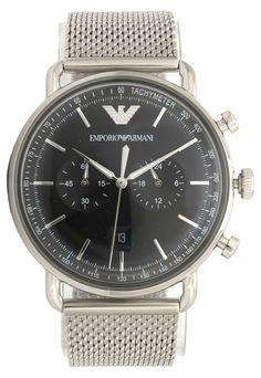 507a14cdacc Relógio Empório Armani AR111041KN Prata