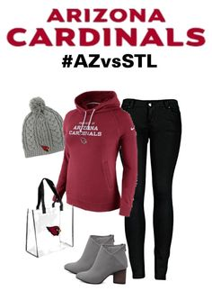 Arizona Cardinals Gameday Attire #AZCardinals #NFLFanStyle #AZvsSTL