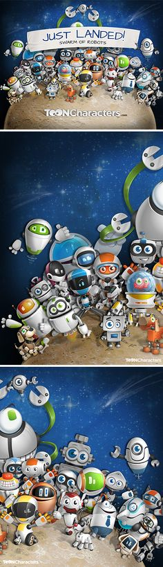 During this month, our attention was focused mostly on robots. We put our hearts into robots - watched loads of movies with robots, played robo-games and even s
