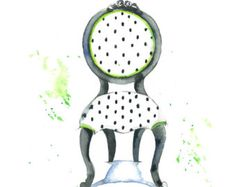 #LGLimitlessDesign  #Contest  chair painting – Etsy