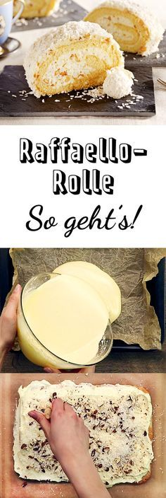 """backen - so geht's Ein Kuchentraum aus Biskuitteig, Kokos und Creme!Crème de la crème Crème de la crème (French, literally 'cream of the cream') is an idiom meaning """"the best of the best"""", """"superlative"""", or """"the very best"""". It may also refer to: Food Cakes, Cupcake Cakes, Cupcakes, Breakfast Recipes, Dessert Recipes, Homemade Cake Recipes, Brownie Cake, Sweet Cakes, Pain"""