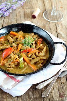 Mi Gran Diversión: Carne con salsa de curry y coco
