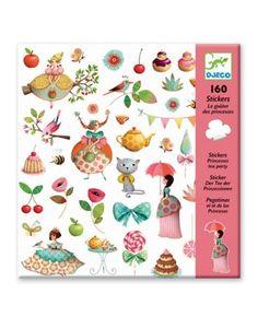 Stickers Princess Tea Party - Djeco