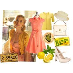 Lemon Breeland - Hart of Dixie retro style