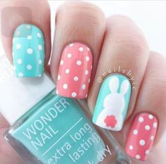 Be the Easter cutie #nailart