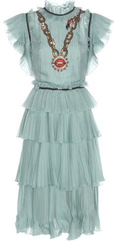 Embellish Ruffle-Tiered Dress