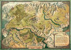 Fantasy Map Making, Fantasy City Map, Fantasy World Map, Twin River, Imaginary Maps, Map Maker, Maker Game, Rpg World, Building Map