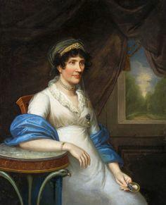 Portrait of Marianna Dembińska née Moszyńska by Joseph Karl Stieler, 1805 (PD-art/old), Muzeum Narodowe w Warszawie (MNW)
