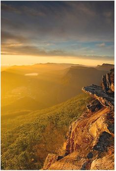 Boroka Lookout, Grampians National Park, Victoria, Australia- a golden shine over the whole sky- really mind blowing - Beth Ziehl - Pin To Travel Outback Australia, Australia Travel, Melbourne Australia, Western Australia, Hello Australia, Beautiful World, Beautiful Places, Wonderful Places, Magic Places
