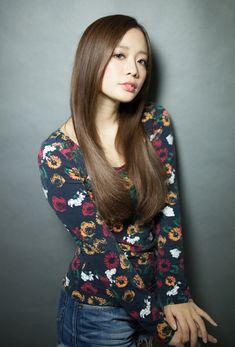 とにかくサラサラうる艶にしたい方にお薦めストレートロング | 銀座の美容室 AFLOAT JAPANのヘアスタイル | Rasysa(らしさ)