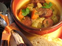 PA Dutch Sausage Stew, had this tonight and really enjoyed it!