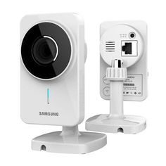 Samsung SNH-1011 SmartCam IP Camera by Samsung. $149.00. WiFi IP camera with zero config technology, securely viewable on any PC, Mac, or Android/Apple mobile device/tablet. Capable of sending push notifications, communicating through two way talk, motion/sound detection, night vision and recording clips to a private YouTube account.