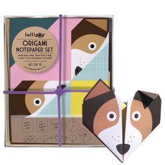 Оригами Notepaper Комплект: Собака