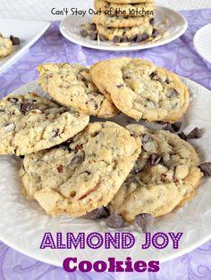 almond Joy Cookies - IMG_5518