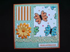 Márcia - cartões: Cartão laranja