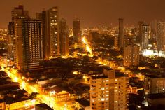 A night view of the city of Belem, northeastern Brazil, on January 11, 2012. The city of Belem, located at the mouth of the Amazon River, has a population of more than 2.3 million in the greater metropolitan area and its 39 islands, according to the latest census. (Reuters/Paulo Santos)