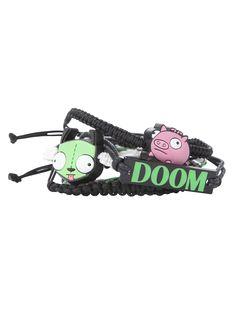 Invader Zim Doom Bracelet Set | Hot Topic