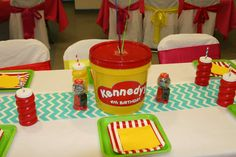 Play-doh Birthday Party Ideas | Photo 8 of 30 | Catch My Party