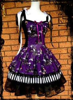 nightmare before christmas dress - Google Search