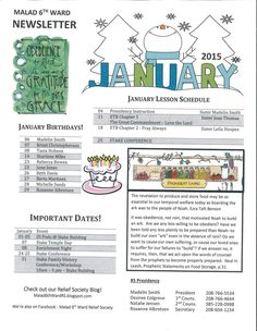 29 best relief society newsletters the church of jesus christ of