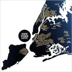 Infographic: A Map Of New York's Hip-Hop Heritage | Co.Design: business + innovation + design
