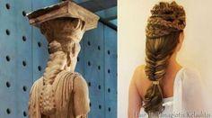 Panagiotis Keladitis inspires by the ancient Greek hairstyles