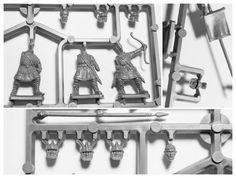 Infanterie impériale romaine IV°- V° Siècle                                                                                                                                                                                                                                           44 figurines multi-poses en plastique à monter et à peindre Gripping Beast, Poses, Roman, Plastic Art, Figure Poses
