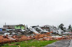 RS Notícias: Tornado atingiu São Francisco de Paula (RS), diz M...
