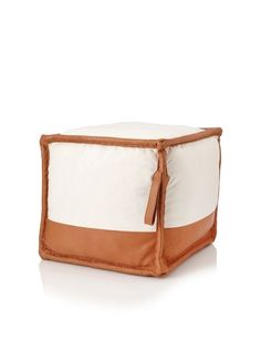 Jamie Young Canvas and Leather Pouf, Off-White/Tan, http://www.myhabit.com/ref=cm_sw_r_pi_mh_i?hash=page%3Dd%26dept%3Dhome%26sale%3DA8NTV8ROU9LTY%26asin%3DB00B5AE0VO%26cAsin%3DB00B5AE0VO