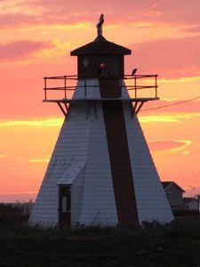 Malpeque/Darnley Range Light,  Prince Edward Island, Canada