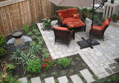 Townhouse Backyard Design Ideas, Pictures, Remodel, and Decor More