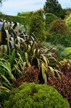 Adorable Small Garden Design Ideas for Inspiration - Korhek Garden Landscape Design, Small Garden Design, Garden Landscaping, Yard Design, Landscaping Design, Garden Ideas Nz, Garden Inspiration, Ferns Garden, Hillside Garden