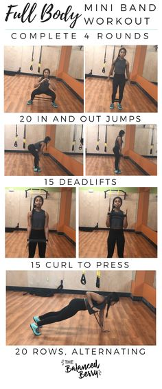 This Full Body Mini Band Workout will give you a fu&; This Full Body Mini Band Workout will give you a fu&; Marieka Vi vinzmareike Sport This Full Body Mini Band […] fitness pictures Fitness Workouts, Fitness Motivation, Lower Ab Workouts, Fitness Hacks, Easy Workouts, At Home Workouts, Health Fitness, Mini Workouts, Fitness Quotes
