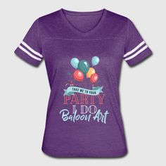 Balloon Art - Invite me to your party I do Balloon Men's Premium T-Shirt Invite, Invitations, Funny Tees, Balloons, Party, Mens Tops, T Shirt, Style, Fashion