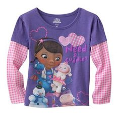 """Disney Doc McStuffins """"Need a Cuddle"""" Tee - Toddler"""