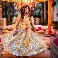 Simple Designer light blue color printed lehenga choli for bridal look.For order WhatsApp - Wedding interests Bridal Mehndi Dresses, Bridal Lehenga, Lehenga Choli, Bollywood Lehenga, Mehendi Outfits, Wedding Lehnga, Punjabi Wedding, Indian Wedding Hairstyles, Indian Wedding Outfits